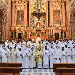 Visita del Nuncio al Seminario